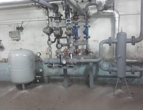 Plynová kotolňa 300kW